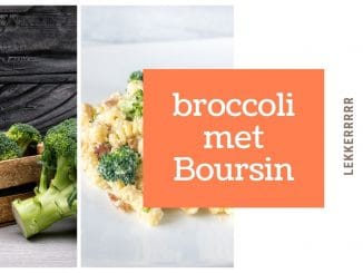 Broccoli met Boursin